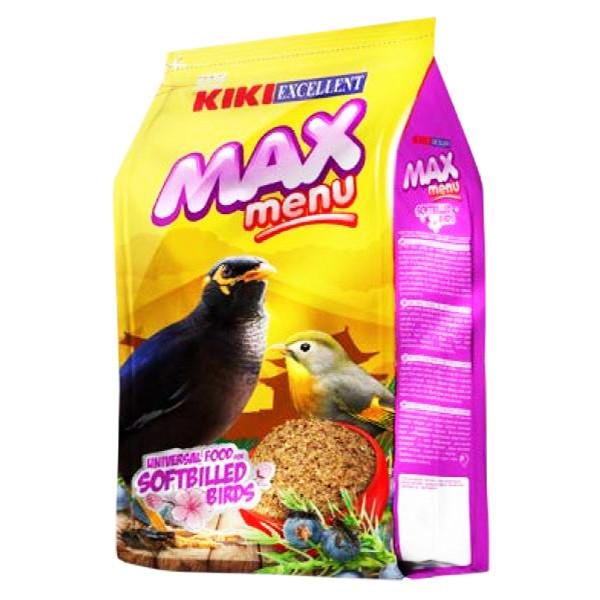 غذای مرغ مینا کیکی مدل Max Menu وزن 500 گرم