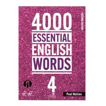 کتاب 4000 Essential English Words اثر Paul Nation انتشارات الوندپویان جلد 4