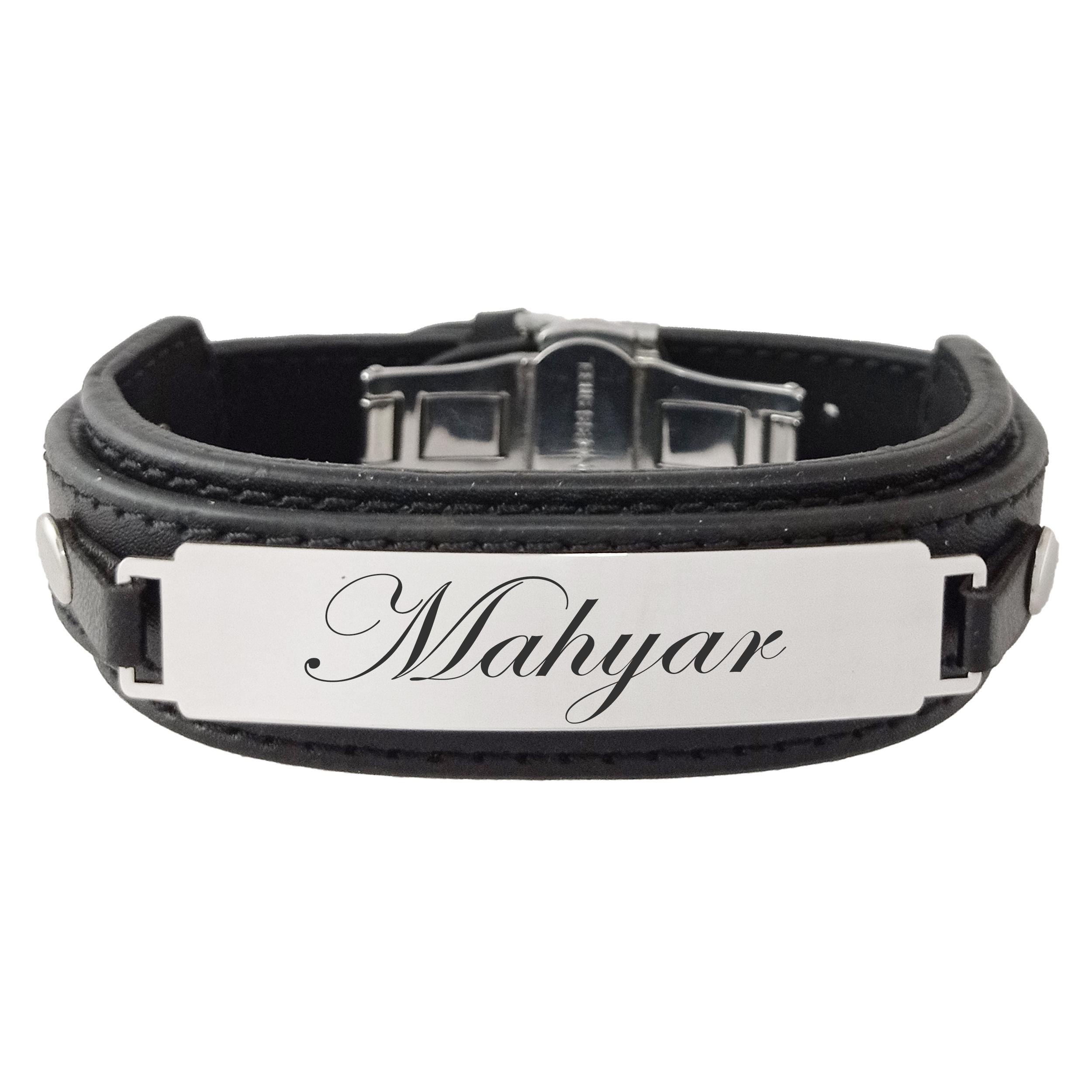 دستبند مردانه ترمه ۱ مدل مهیار کد Sam 981