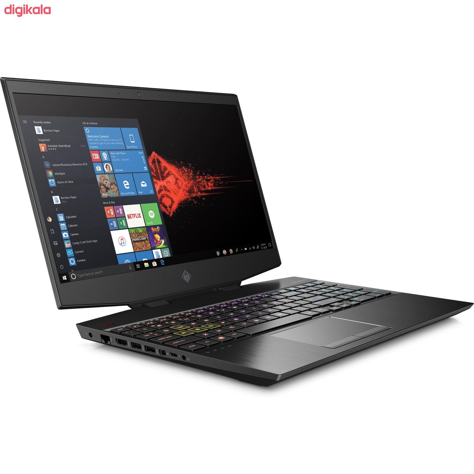 لپ تاپ 15.6 اینچی اچپی مدل OMEN 15-DH1050-B