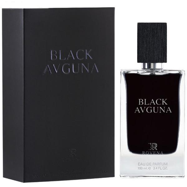 ادو پرفیوم مردانه روونا مدل BLACK AVGUNA حجم 100 میلی لیتر