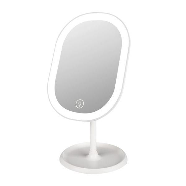 رینگ لایت آرایشی و آینه مدل AM-Oval