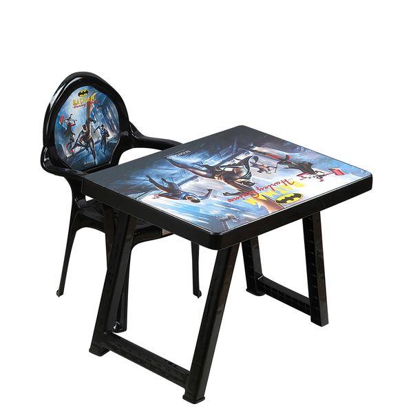 ست میز و صندلی کودک مدل Batman