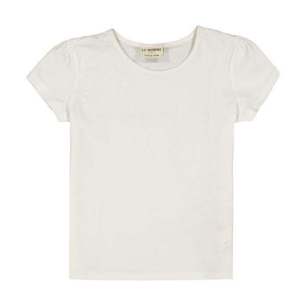 تی شرت دخترانه ال سی وایکیکی مدل 8S0312Z4-FFB