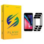 محافظ صفحه نمایش فلش مدل +HD مناسب برای گوشی موبایل اپل iPhone 7 Plus بسته سه عددی