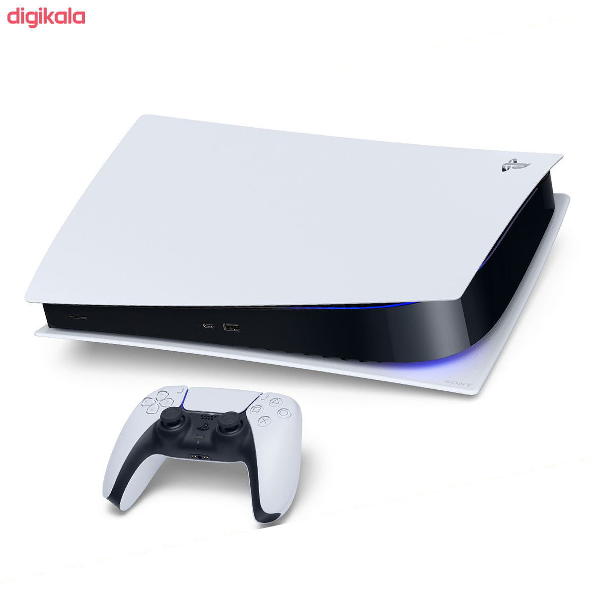 مجموعه کنسول بازی سونی مدل PlayStatio 5 Digital Edition ظرفیت 825 گیگابایت به همراه دسته اضافی main 1 2