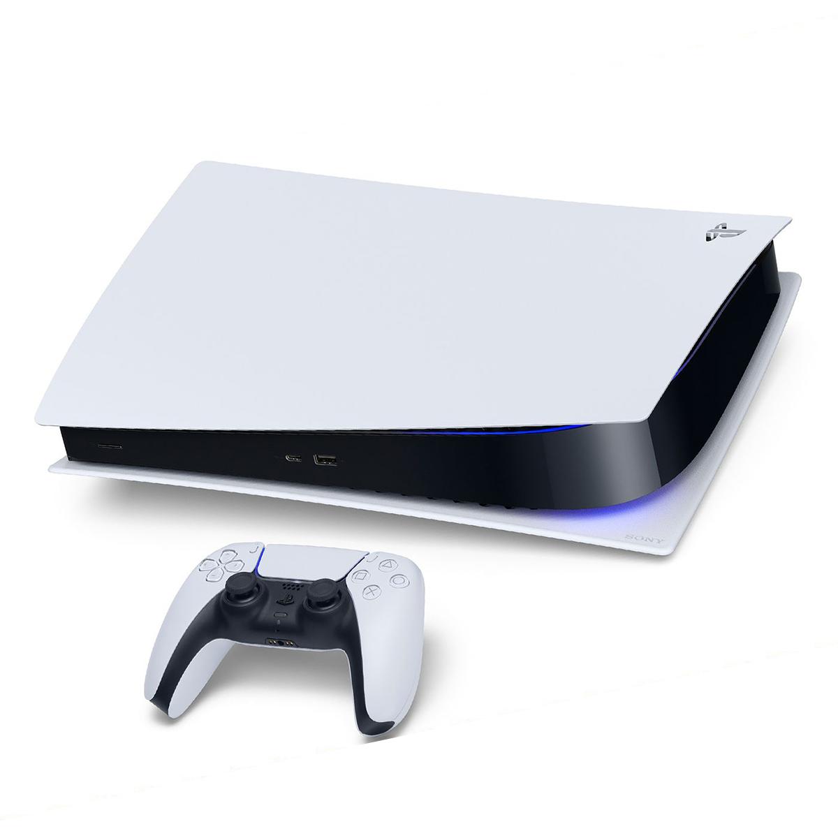 مجموعه کنسول بازی سونی مدل PLayStation 5 Digital به همراه هدست سونی Pulse 3D