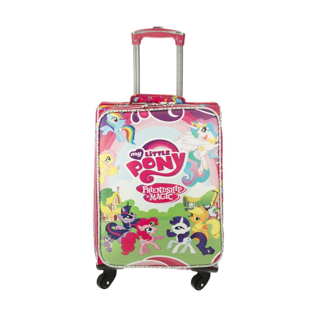 چمدان کودک مدل پونی   کد ۱۰۱
