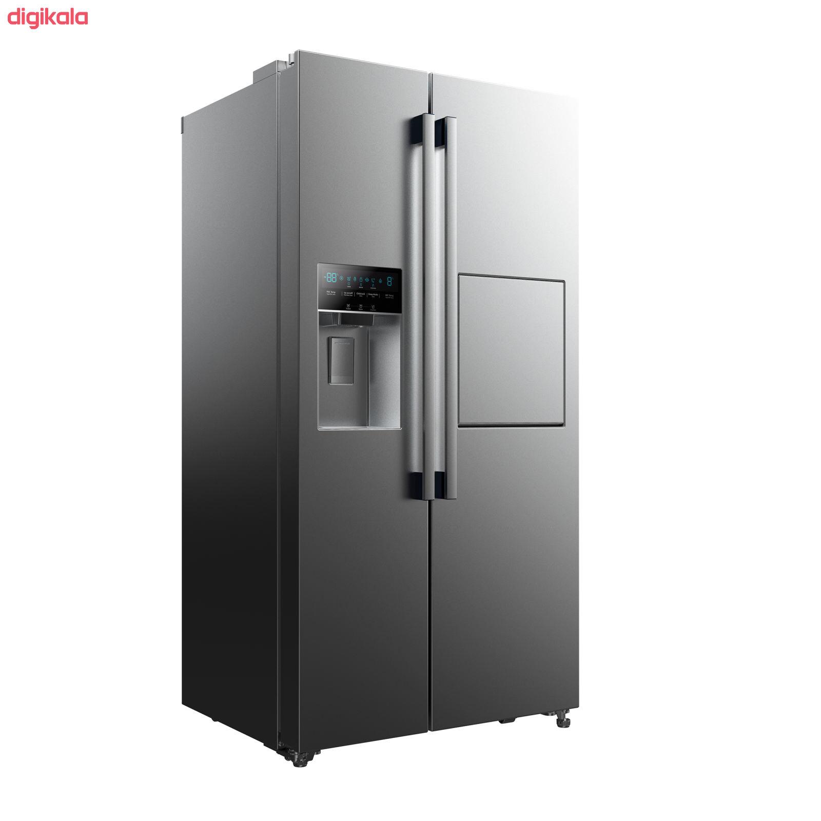 یخچال و فریز ساید بای ساید دوو مدل D4S-2915SS main 1 3