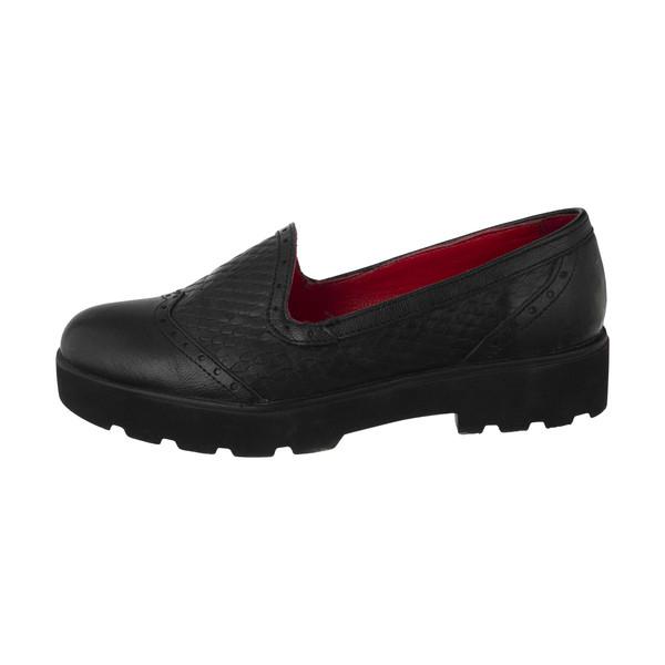 کفش روزمره زنانه ساتین مدل 5m07a500101