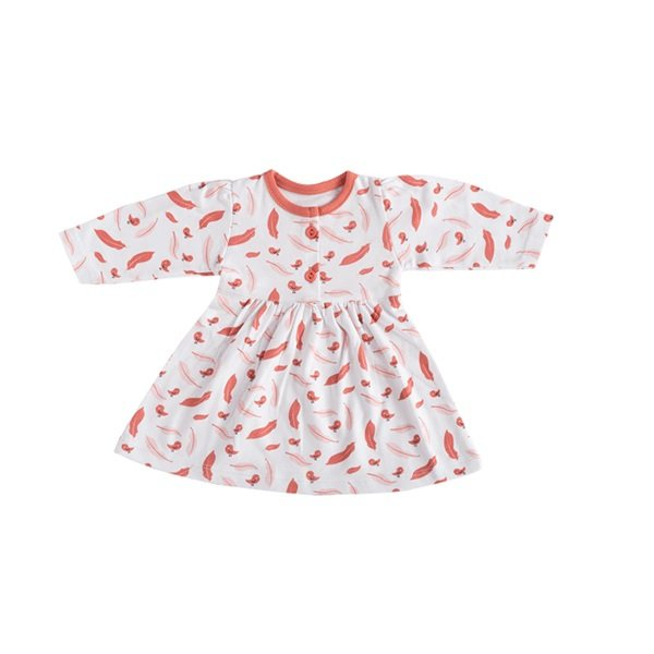 پیراهن نوزاد بی سی سی طرح Little bird