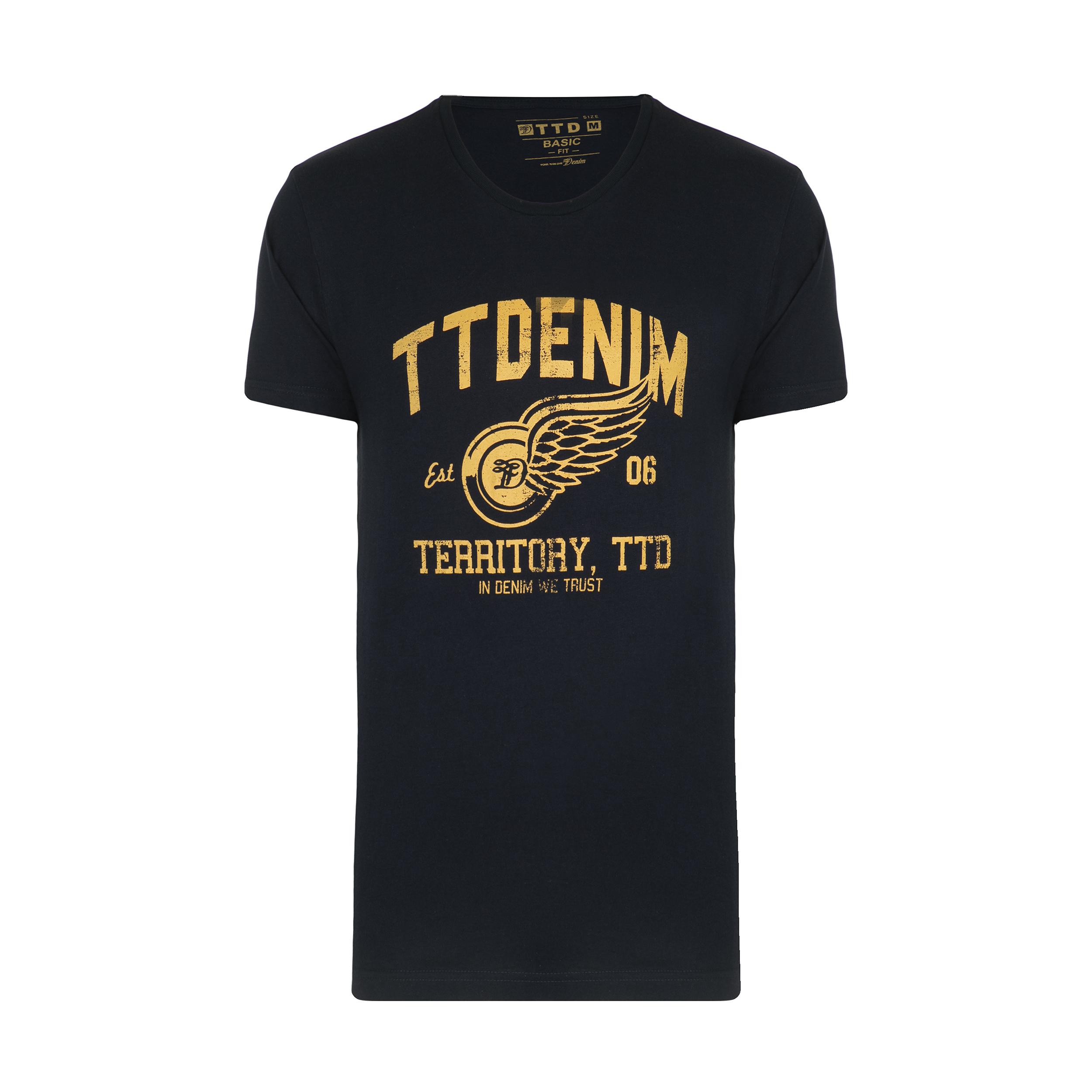 تیشرت آستین کوتاه مردانه تام تیلور مدل 188