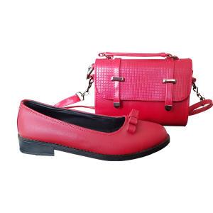 ست کیف و کفش زنانه مدل کالج کد N1