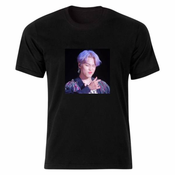 تی شرت آستین کوتاه زنانه مدل بی تی اس کد tme279