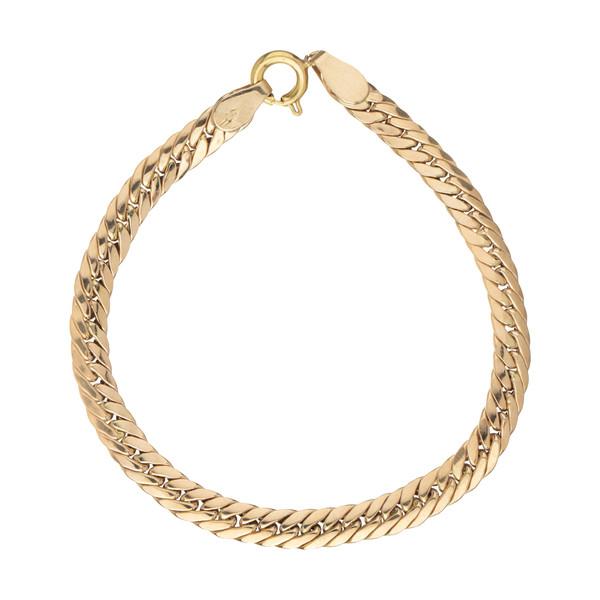 دستبند طلا 18 عیار زنانه زرمان مدل ZMB108