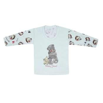 تی شرت آستین بلند نوزادی مدل 988581BU