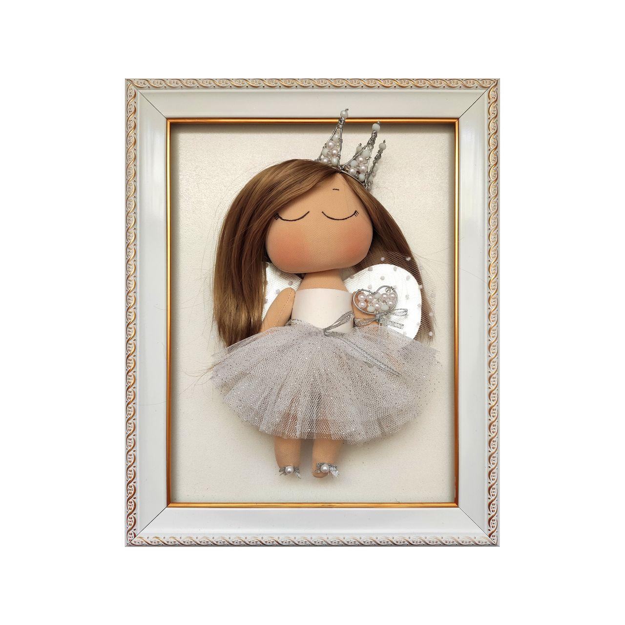 تابلو برجسته طرح عروسکی مدل فرشته