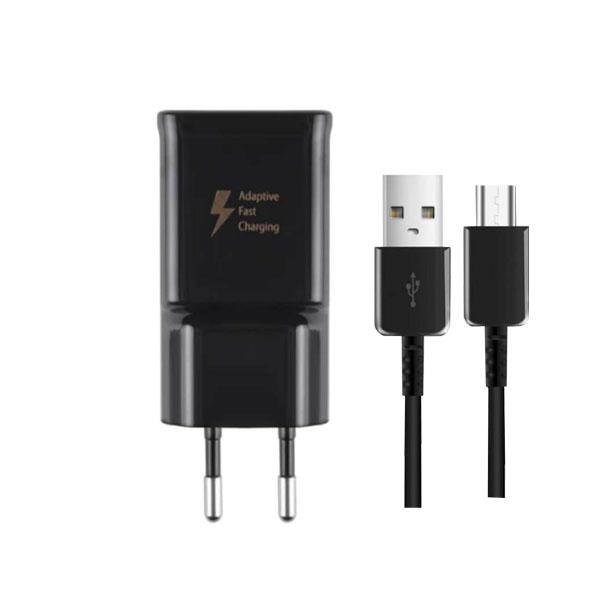 شارژر دیواری سامسونگ مدل EP-TA20EWEYGWW به همراه کابل تبدیل USB-C