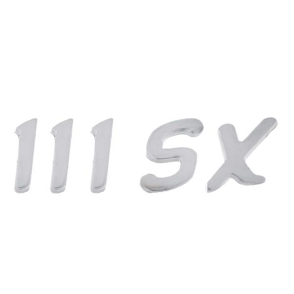 آرم عقب خودرو بیلگین طرح پراید 111 اس ایکس کد b111sx01
