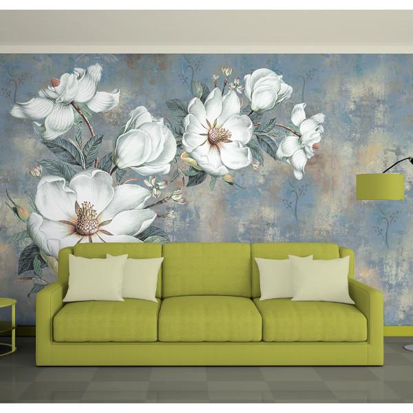 پوستر دیواری سه بعدی طرح گل کد 2017
