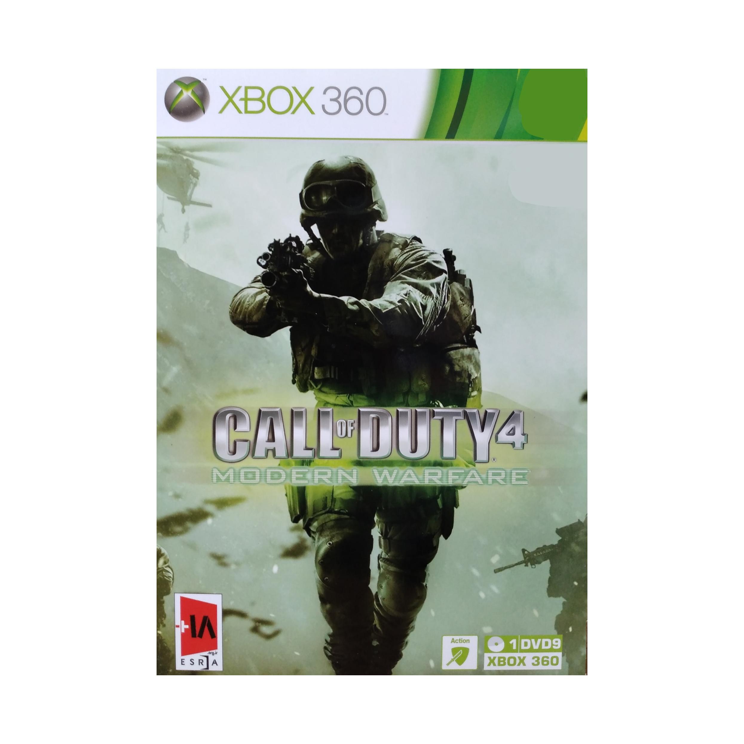 بازی کال آف دیوتی ۴ مدرن وارفار مخصوص Xbox 360