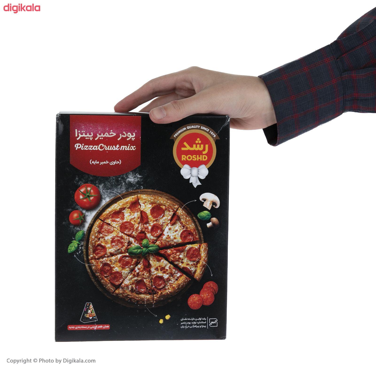 پودر خمیر پیتزا رشد مقدار 480 گرم main 1 3