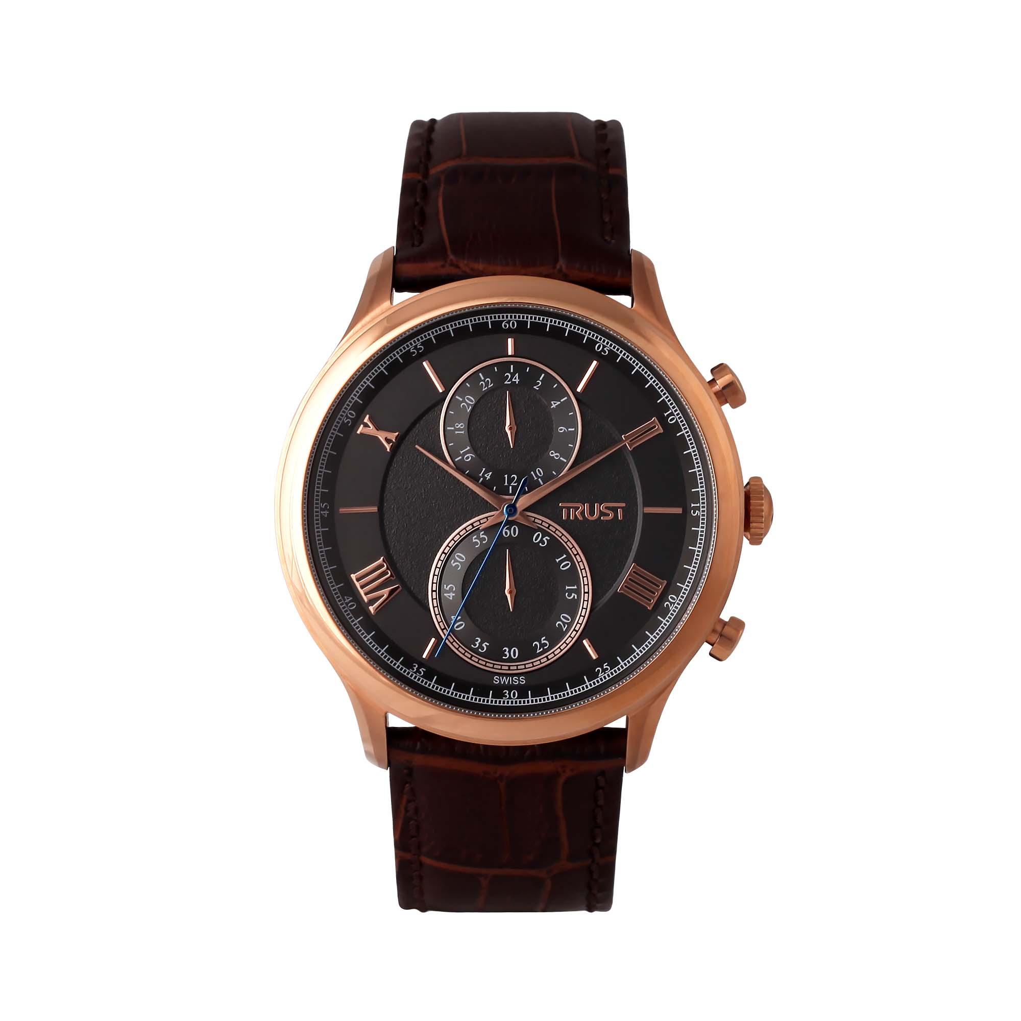 قیمت                      ساعت مچی عقربه ای مردانه تراست مدل G477CUF
