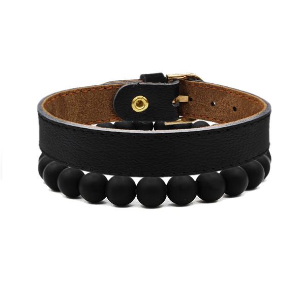 دستبند مردانه رزالیا مدل RBR-MM-L-2 مجموعه 2 عددی