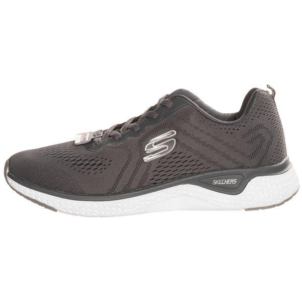 کفش مخصوص دویدن مردانه اسکچرز مدل SKECH-KNIT SPEED GRY-1050031