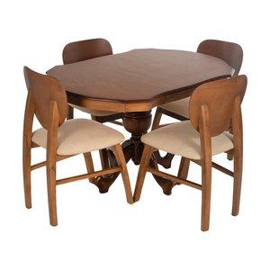 میز و صندلی ناهارخوری مدل فیلی کد 10016