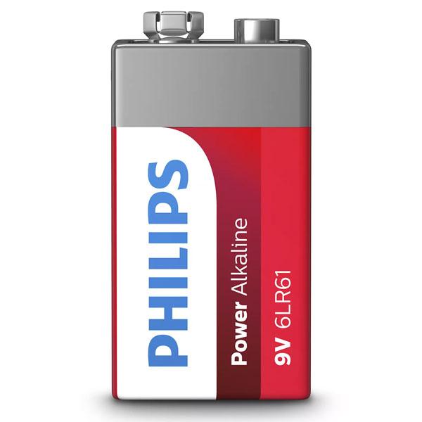 باتری کتابی فیلیپس مدل 6LR61P1B/97 در بزرگترین فروشگاه اینترنتی جنوب کشور ویزمارکت