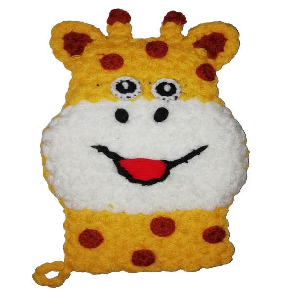لیف حمام کودک طرح عروسکی مدل Giraffe