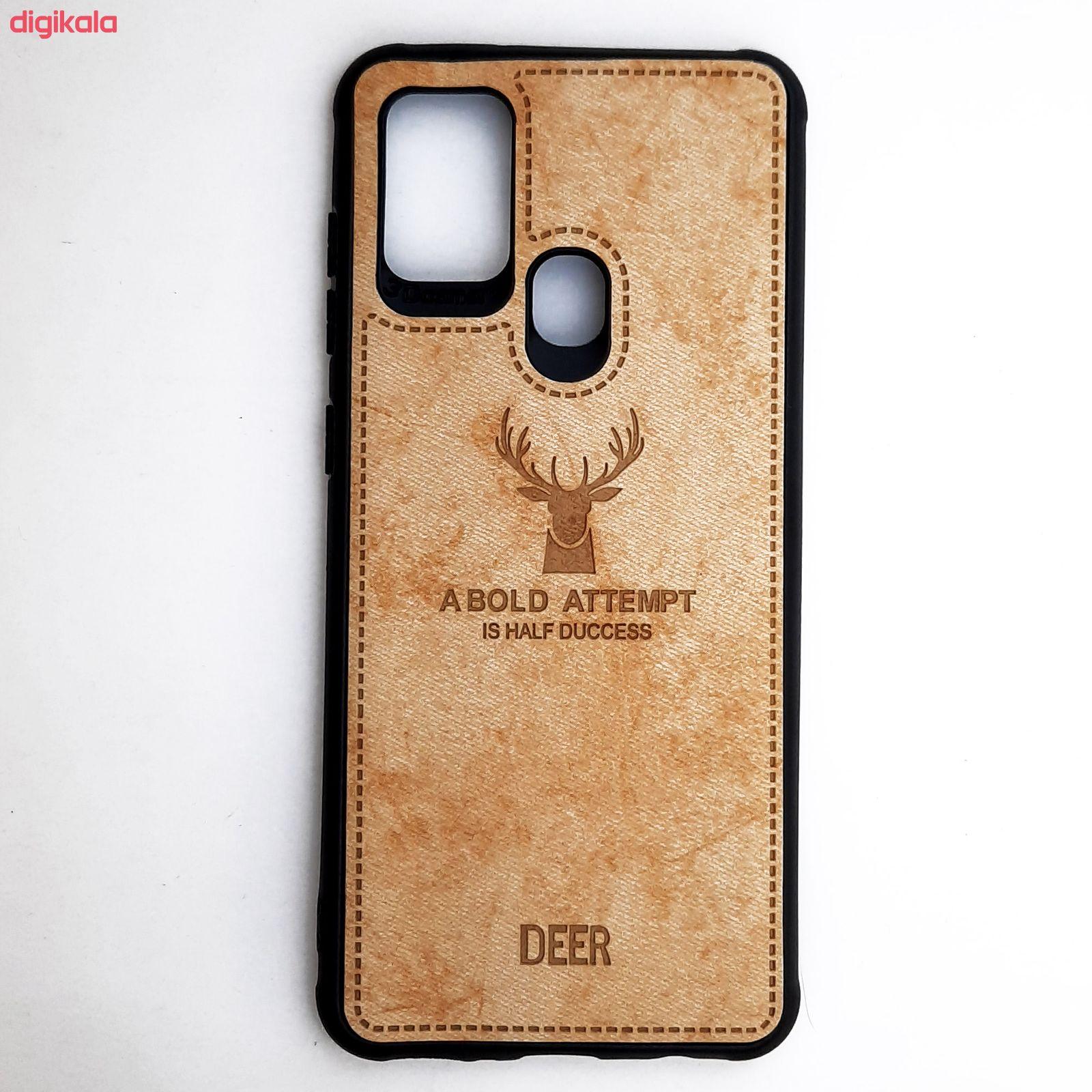کاور مدل CO508 طرح گوزن مناسب برای گوشی موبایل سامسونگ Galaxy A21s main 1 6