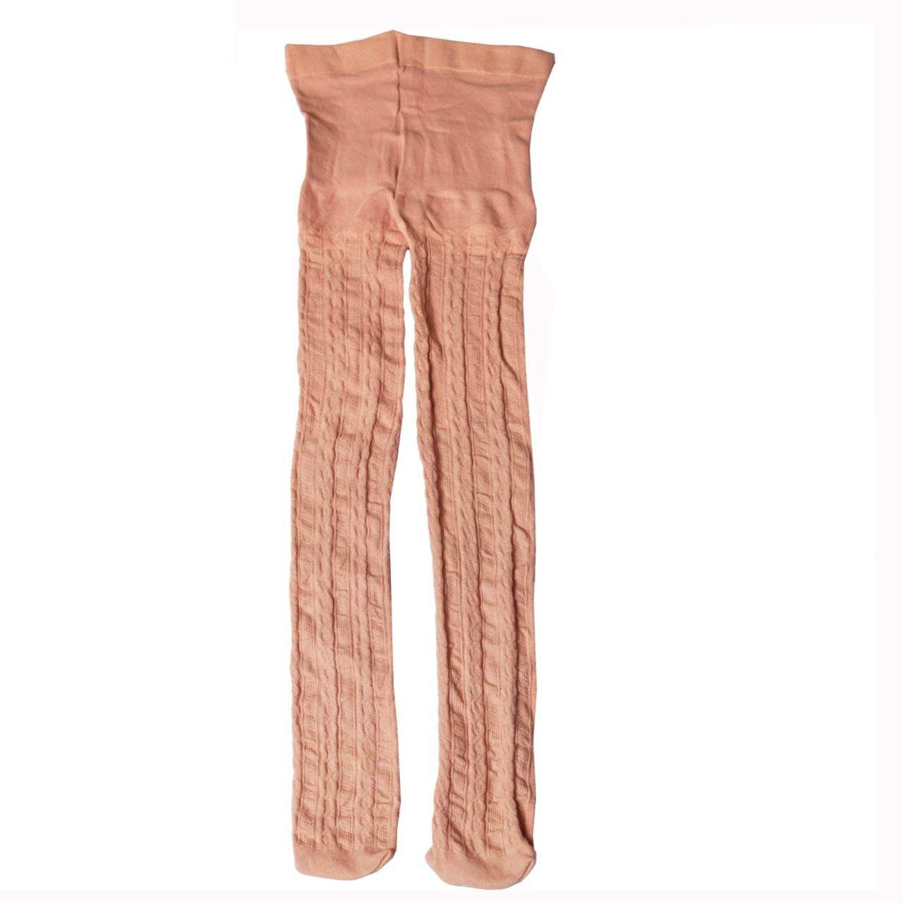 جوراب شلواری دخترانه پنتی مدل کارینا رنگ صورتی