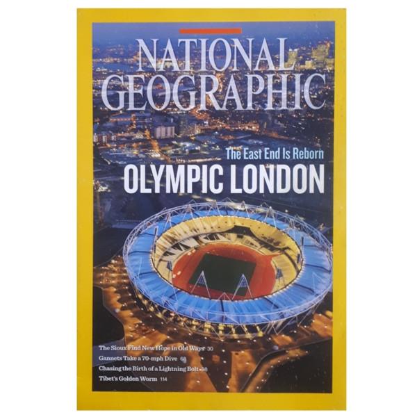 مجله نشنال جئوگرافیک آگوست 2012