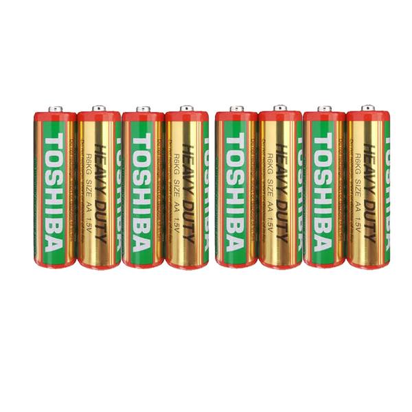 باتری قلمی توشیبا مدل Heavy Duty 88T بسته 8 عددی