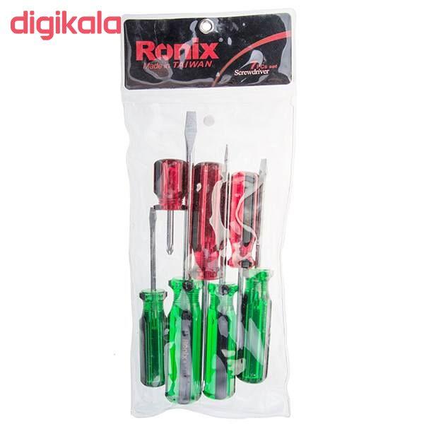 مجموعه 7 عددی پیچ گوشتی رونیکس مدل RRH-2701 main 1 1