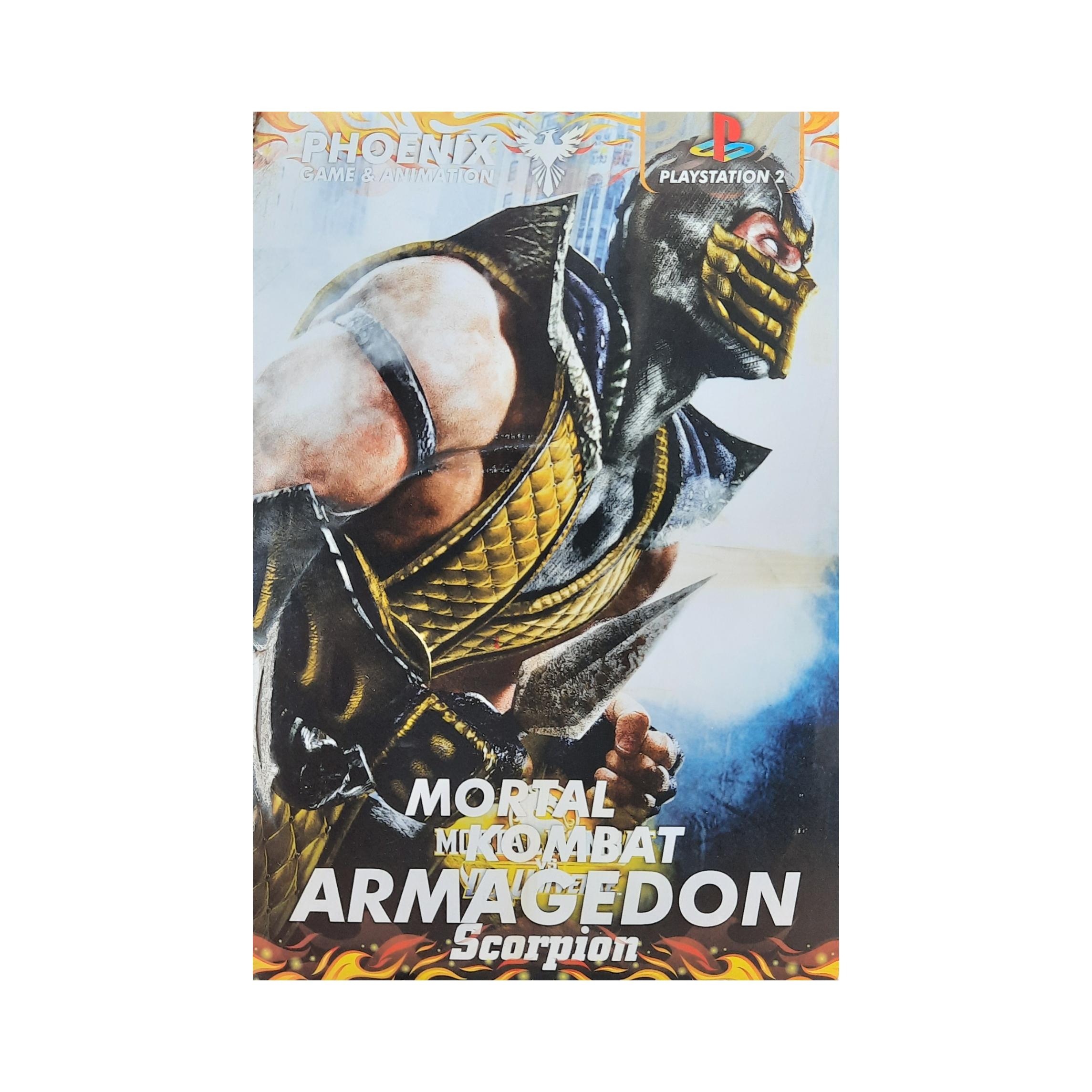 بازی Mortal Kombat Armagedon مخصوص ps2