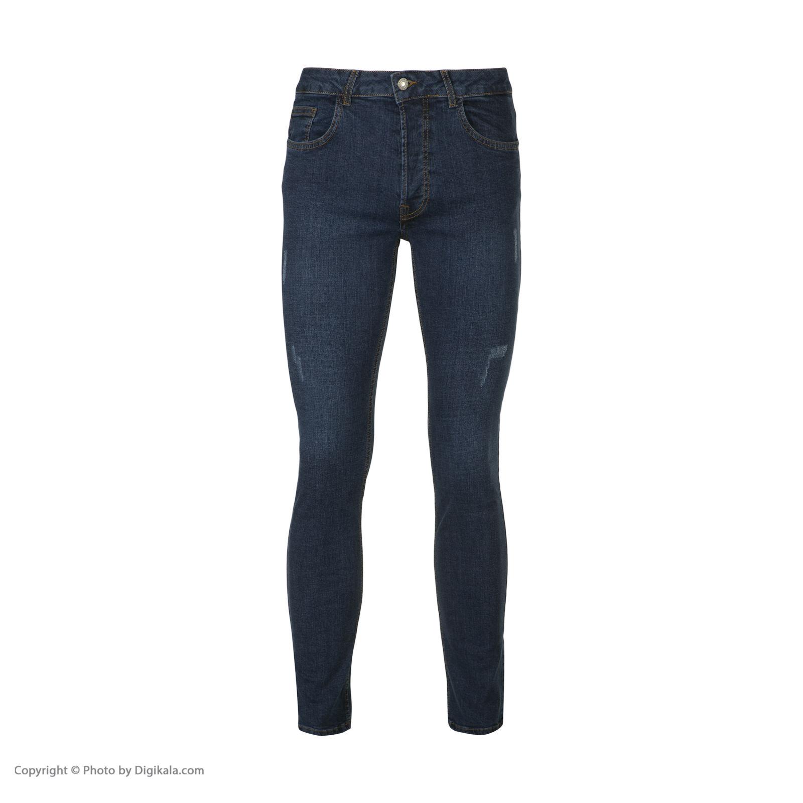 شلوار جین مردانه آر اِن اِس مدل 133051-59 -  - 2