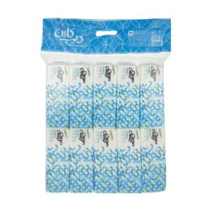 دستمال کاغذی 100 برگ دیپ کلین مدل 01 بسته 10 عددی