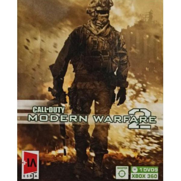 بازی CALL-DUTY MODERN WARFARE 2 مخصوص XBOX 360
