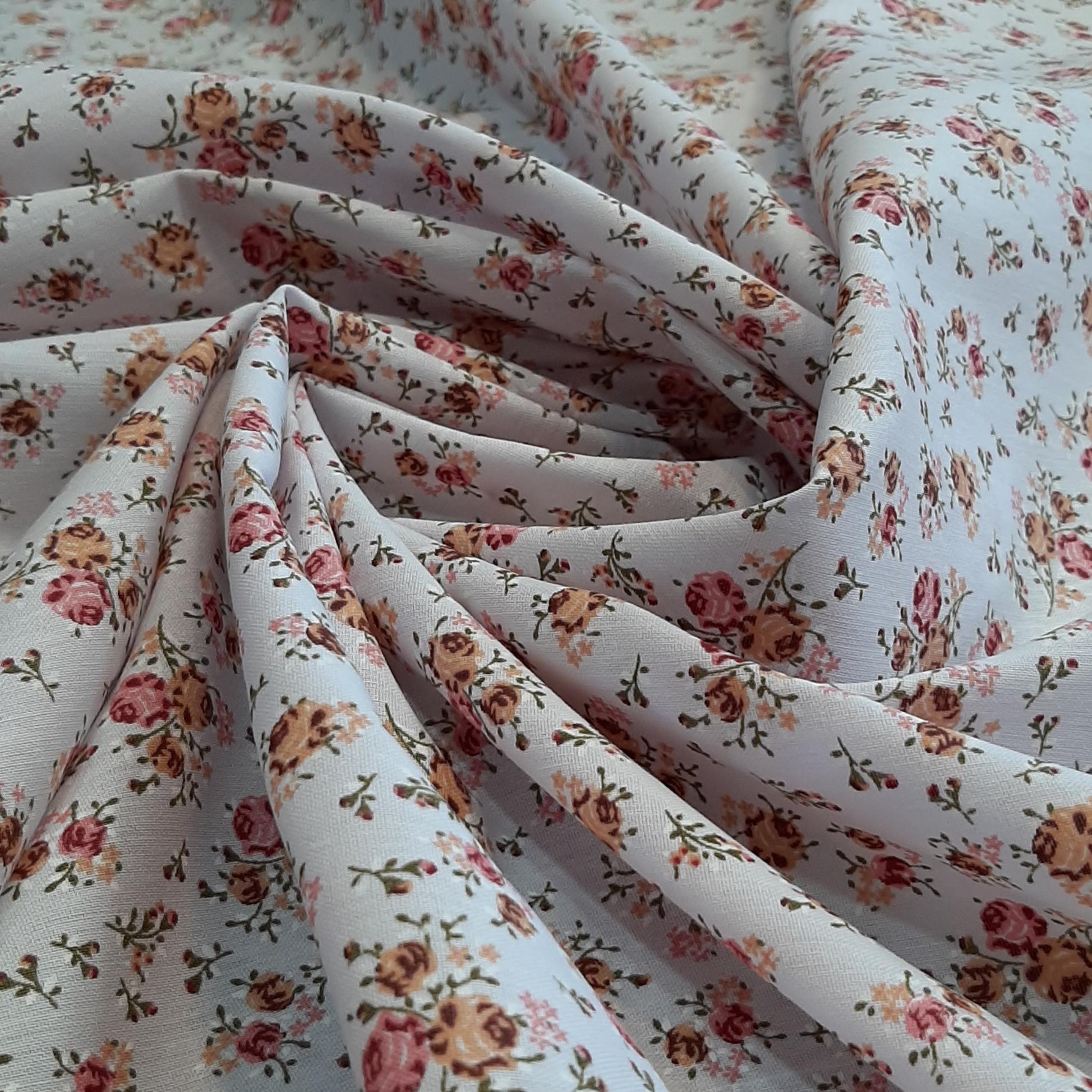 خرید                      پارچه چادری طرح گل مدل h017