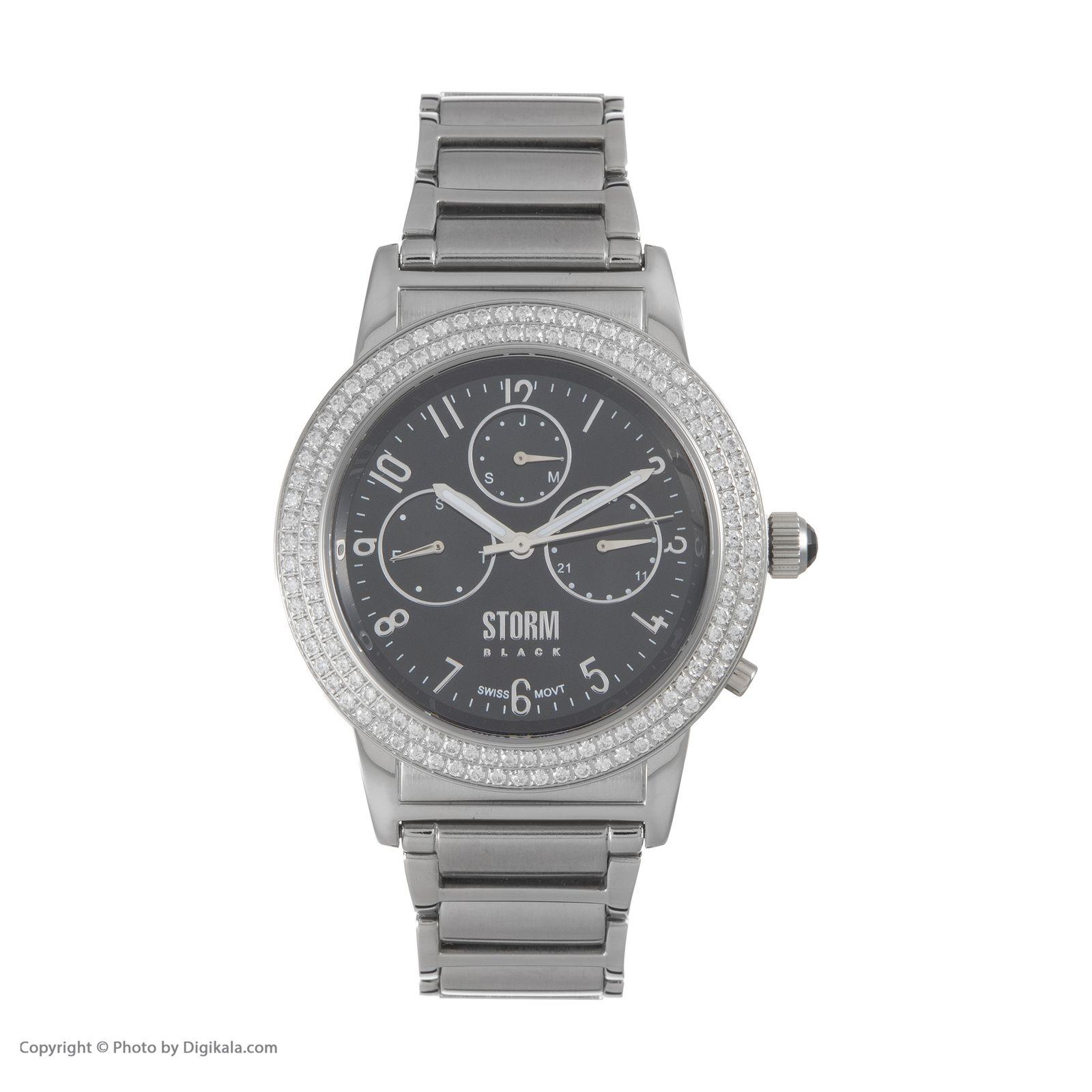 ساعت مچی عقربه ای زنانه استورم مدل ST 47132-BK -  - 4