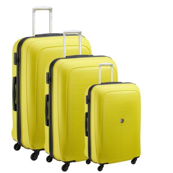مجموعه 3 عددی چمدان دلسی مدل TASMAN NEW