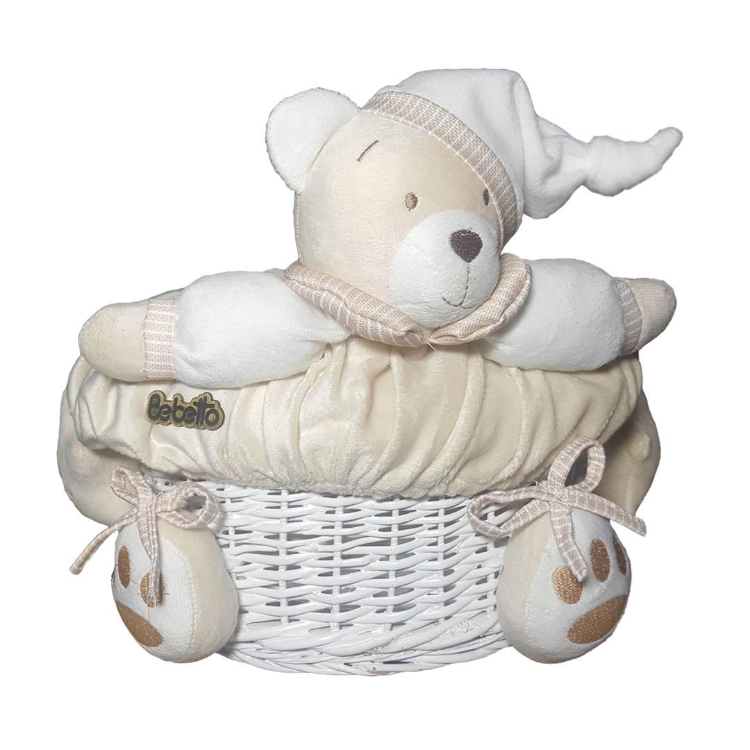 سبد وسایل کودک مدل خرس