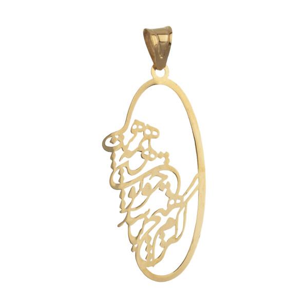 آویز گردنبند طلا 18 عیار زنانه مایا ماهک مدل MM1115
