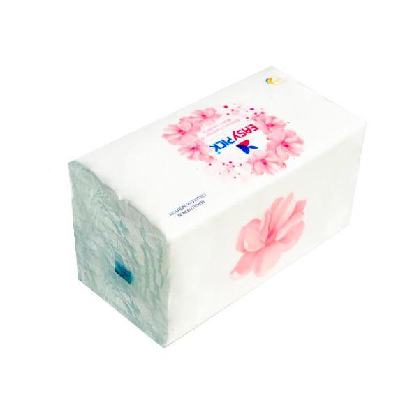 دستمال حوله ای 100 برگ ایزی پیک مدل Flower
