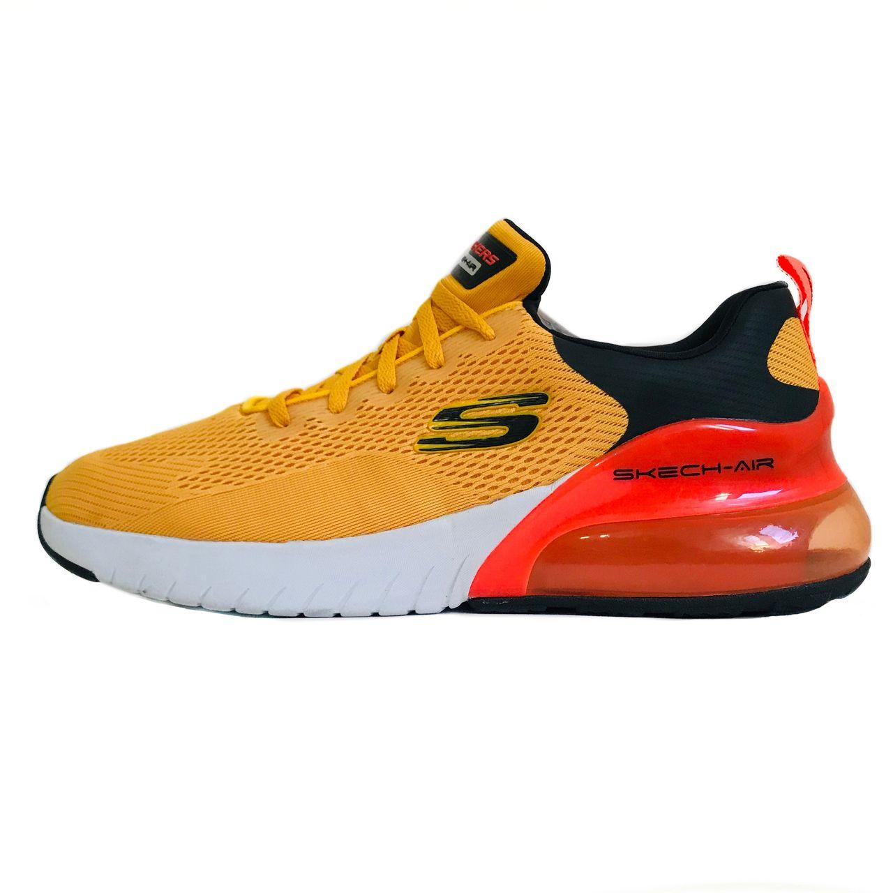 کفش پیاده روی مردانه اسکچرز مدل 232056YLBK