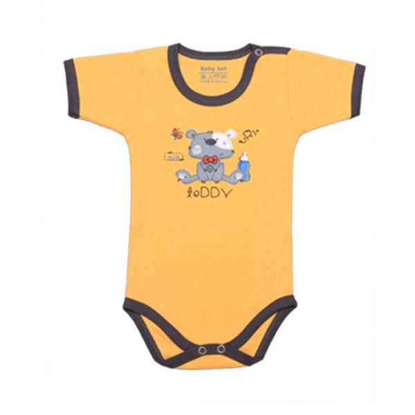 بادی نوزادی پسرانه طرح خرس کد 03