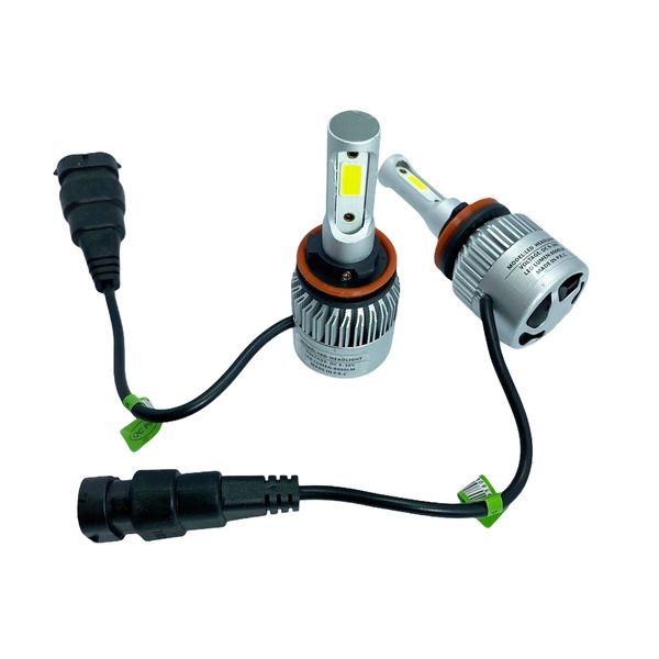 لامپ هدلایت خودرو مدل H11 بسته 2 عددی مناسب برای ساندرو